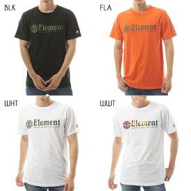【SALE】2019 エレメント メンズ HORIZONTAL SS Tシャツ 全4色 M/L/XL ELEMENT