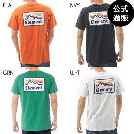 【SALE】2019 エレメント メンズ OUTDOOR SS Tシャツ 全4色 M/L/XL ELEMENT