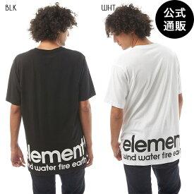 【SALE】2019 エレメント メンズ BIG LOGO SS Tシャツ 全2色 M/L/XL ELEMENT