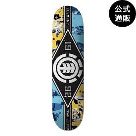 ◆デッキテープ付◆2019 エレメント スケートボード 8インチ SCHANS MAJOR LEAGUE デッキ 全1色 8 ELEMENT
