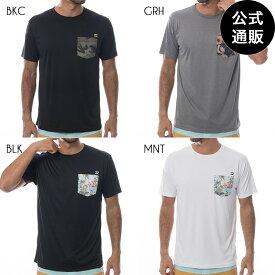 【OUTLET】2019 ビラボン メンズ ラッシュガード ポケットTシャツ【2019年春夏モデル】 全4色 M/L/XL BILLABONG
