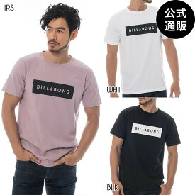 【SALE】2019 ビラボン メンズ UNITED SOLID Tシャツ 全3色 S/M/L BILLABONG