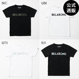 【SALE】2019 ビラボン キッズ UNITY LOGO Tシャツ(90〜160) 全4色 90/110/130/140/150/160 BILLABONG