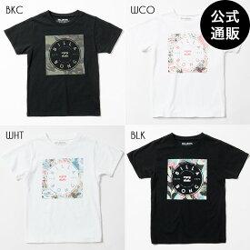 【SALE】2019 ビラボン キッズ SQUARE LOGO Tシャツ(90〜160) 全4色 90/110/130/140/150/160 BILLABONG