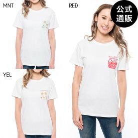 【SALE】2019 ビラボン レディース ロゴポケットTシャツ 全3色 M/L BILLABONG