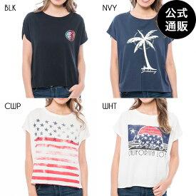 【SALE】【直営店限定】2019 ビラボン レディース クロップドフレンチスリーブTシャツ 全4色 M/L BILLABONG