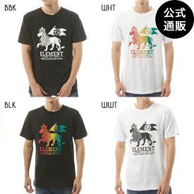 2019 エレメント メンズ LION SS Tシャツ 全4色 M/L/XL ELEMENT