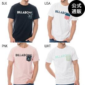 【SALE】2019 ビラボン メンズ UNITY LOGO Tシャツ 全4色 S/M/L/XL BILLABONG