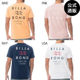 【SALE】2019 ビラボン メンズ ONE TIME Tシャツ 全4色 S/M/L/XL BILLABONG