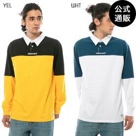 【SALE】【送料無料】2019 エレメント メンズ TOUGH RUGBY LS ポロシャツ 全2色 M/L/XL ELEMENT