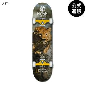 2019 エレメント デッキ 【NATIONAL GEOGRAPHIC】 NAT GEO NYJAH LION デッキ 全1色 7.75 ELEMENT