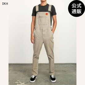 【OUTLET】2019 RVCA ルーカ メンズ 【SMITH STREET】 SMITH STREET OVERALL ロングパンツ DKH 全1色 28/30/32/34 rvca