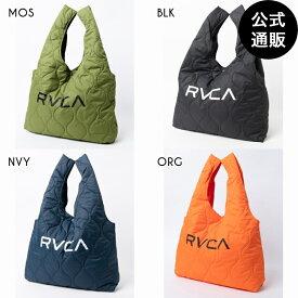 2020 RVCA ルーカ メンズ QUILTING SHOPPER バッグ【2020年秋冬モデル】 全4色 F rvca