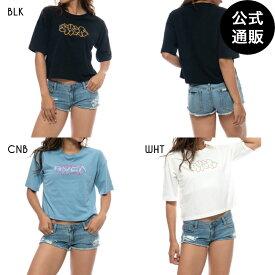 【SALE】2021 RVCA ルーカ レディース BIG T UP SS Tシャツ【2021年夏モデル】 全3色 XS/S/M rvca