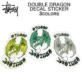 STUSSY(ステューシー) DOUBLE DRAGON DECAL STICKER【ステッカー・デカール・シール】