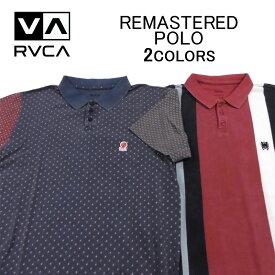 ルカ/ルーカ 半袖ポロシャツ RVCA REMASTERED POLOトップス・鹿の子織り・メンズ(男性用)(S M L XL XXL サイズ) M903QRRP
