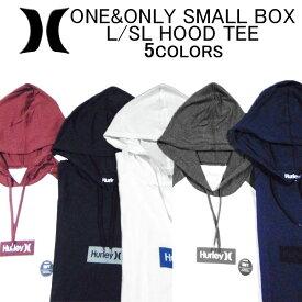 ハーレー 長袖Tシャツ HURLEY ONE&ONLY SMALL BOX L/SL HOOD TEEOAO(ワンアンドオンリー)・ロンティー(ロングスリーブティーシャツ・ロンT)・フード・フーディー・カットソー・トップス・メンズ(男性用)・ハーレイ・ハーリー・(S M L XL XXL サイズ)AJ1776