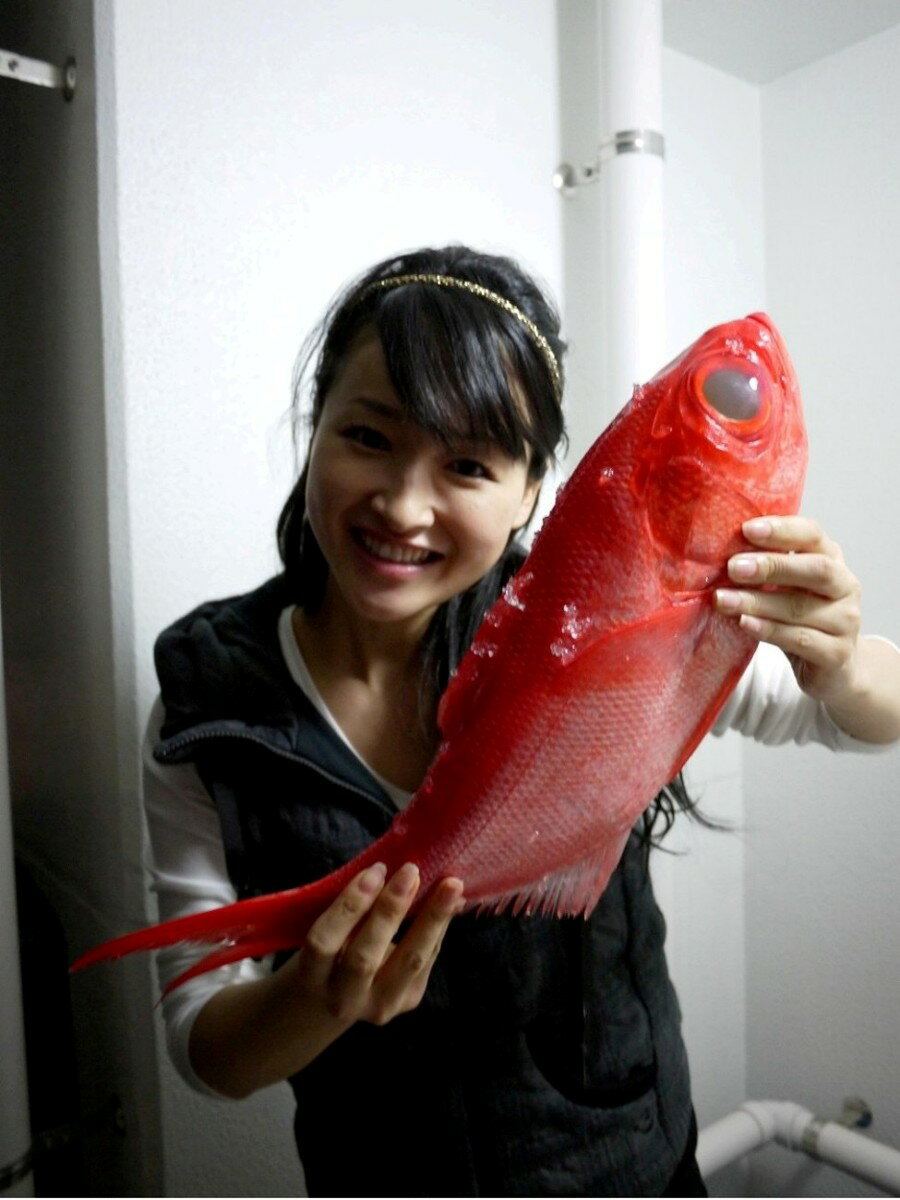 金目鯛(鮮魚) 丸々1匹(約1000g〜1100g)