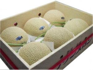 静岡名品「クラウンメロン」1ケース(6玉入)(1玉1.3Kg)(等級:白)【送料込み】
