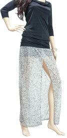 ARMANI EXCHANGE アルマーニ エクスチェンジ レディース マキシ スカート ロング スカート シフォン グレー/10011733