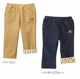 サンクスプライス☆MIKIHOUSE HOTBISCUITS(ミキハウスホットビスケッツ)ビーンズくん☆ストレッチパンツ(80cm90cm) 71-3215-979