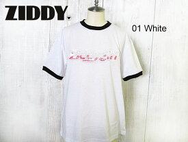 SALE! 50%OFF!! 2020春夏 ZIDDY ジディ 天竺PVCロゴTシャツ:140〜150cm、FREE:1235-23073