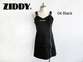 2020秋冬 ZIDDY ジディ ライダース風ストレッチツイルジャンパースカート :140〜150cm・FREE:1223-26017