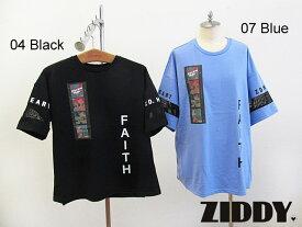 2021春夏 ZIDDY ジディ ネガフォトプリントTシャツ:140〜150cm・FREE:1235-32501