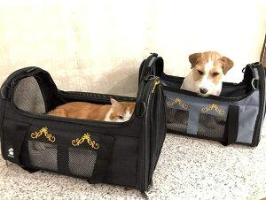 ペットキャリーバッグ 大型 ペット バッグ 通気性 抜群 軽量 持ち運び便利 折り畳み式 犬猫兼用