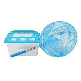 虫取り網 飼育ボックス セット 虫取りアミ 伸縮式 虫とり むしとり 虫かご 昆虫 親子 子供