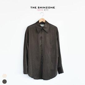 THE SHINZONE(ザ シンゾーン)/BIG COLLAR SHIRT ビッグカラーシャツレディース/shinzone 通販/シンゾーン 通販/シンゾーン シャツ【2020春夏】