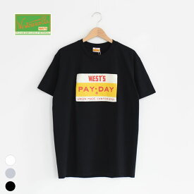 【SALE 30%OFF】WESTOVERALLS(ウエストオーバーオールズ)/PAYDAY×WEST'S TEE/メンズ/レディース/ウエストオーバーオールズ 通販/westoveralls payday【返品交換不可】