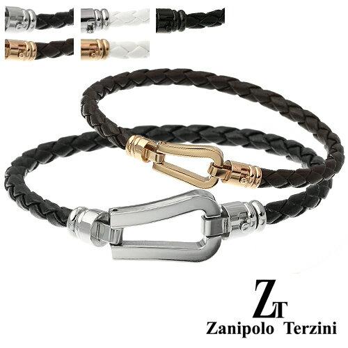 【ペア販売】zanipolo terzini (ザニポロタルツィーニ) ホースシューペアブレスレット 送料無料 [ステンレスブレスレット] アクセサリー