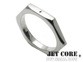 \割引クーポン配布/JET CORE (ジェットコア) ナットリングS シルバー アクセサリー ブランド 指輪 メンズ[シルバーリング]