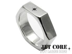 \割引クーポン配布/JET CORE (ジェットコア) ナットリングL シルバー アクセサリー ブランド 指輪 メンズ[シルバーリング]