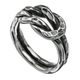 \割引クーポン/Binich(ビニッチ) 槌目 ノットデザイン リング メンズ 指輪 メンズ シルバー925 アクセサリー[シルバーリング]