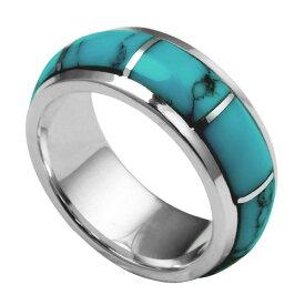 Binich(ビニッチ) ラウンドスクロールターコイズリング メンズ 指輪 メンズ シルバーアクセサリー[シルバーリング]