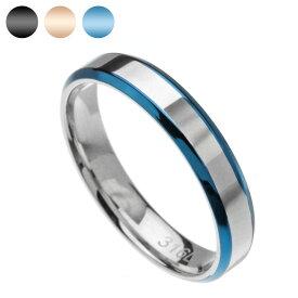 Binich(ビニッチ) 【有料刻印可能】 ダブルライン スチール リング メンズ レディース 指輪 メンズ レディース ペア[ステンレスリング]
