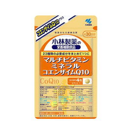【メール便/送料無料】小林製薬 マルチビタミン・ミネラル・コエンザイムQ10 120粒(約30日分)