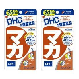 【ネコポス/送料無料】2袋セットDHC マカ 60粒入 20日分*