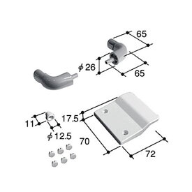 浴室引手 立山アルミ 浴室ドア補修部品 PKB1174