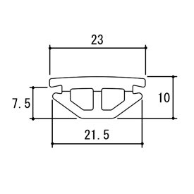 三協アルミ 補修部品 気密材 ゴムパッキン 玄関引き戸 WD1818 秀峰 銘峰 和彩