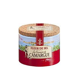 カマルグの塩 フルール・ド・セル(塩の花 CAMARGUE FLEUR DE SEL)フランス[125g]《常温便》