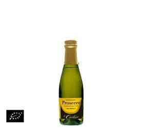 【送料無料】海外有機認証 ビオワイン Piccolo Prosecco Frizzante(オーガニックワイン ピッコロ プロセッコ フリザンテ)イタリア産[200ml]【常温便】