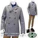 CAMPLIN ≪カンプリン≫ イタリアブランド ピーコート メンズ Pコート ハーフコート ピージャケット ≪グレー ダブル…