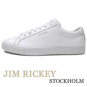 JIM RICKEY ≪ジムリッキー≫ スウェーデンブランド ホワイト レザー スニーカー 白 メンズ ≪本革スニーカー 白 CHOP 白スニーカー 国内正規品≫【送料無料】12500