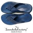 The Sandals Factory ≪ザ・サンダルズファクトリー≫ イタリアブランド NuovoNicar イタリア製 レザーサンダル メン…