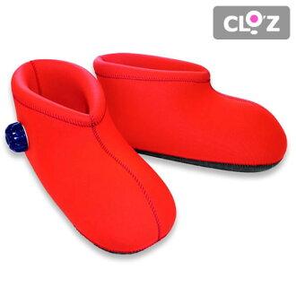 穿供kurottsukurottsu以及稻草或者汤婆子脚使用的短的类型简易潜水服yutampo简易潜水服的汤婆子CLOZ Clo'z kurottsu