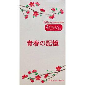 【最大20倍ポイントUP中】青春の記憶 120カプセル (全国一律送料無料) サプリ ケイケットウ 大豆発酵物