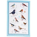 英国直輸入☆ 小鳥のリネンティータオル【Bird Song】by ULSTER WEAVERS